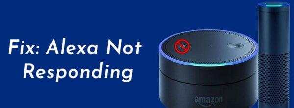 Fix Alexa not responding issue