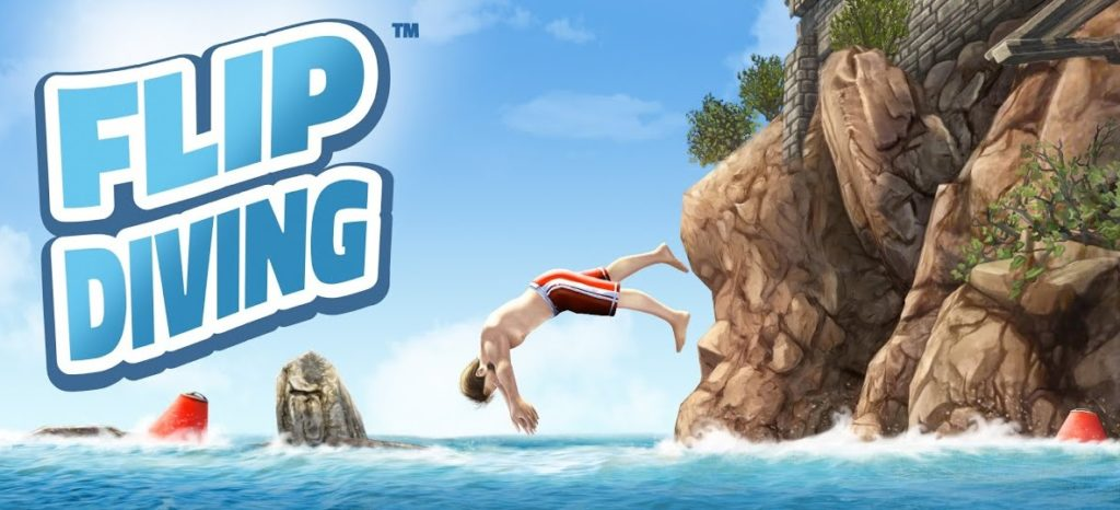 Flip diving for android