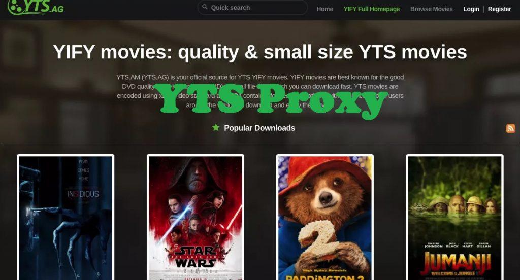 YTS proxy 2019