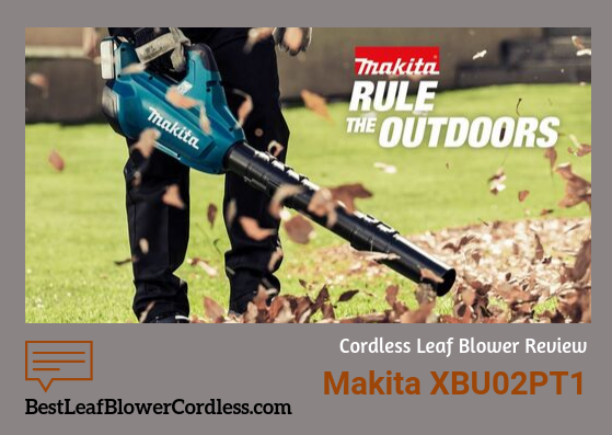 Makita XBU02PTt1 Electric Blower guide
