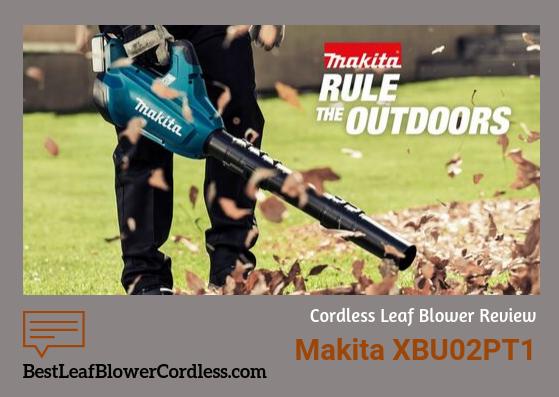 Makita XBU02PTt1 Electric Blower guide