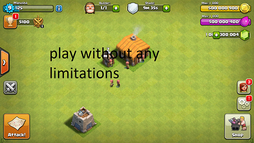 Clash of Clans Mod APK highlights