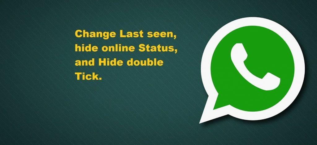 Hide Last Seen Status On WhatsApp app