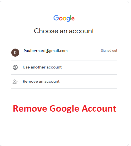 How to Remove Google Account from Android and iOS devices