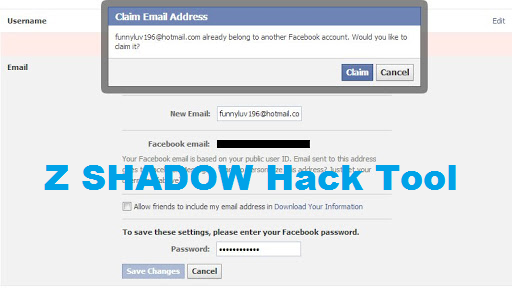 Z shadow hack tool