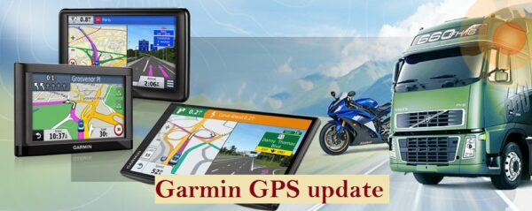 Garmin GPS update process